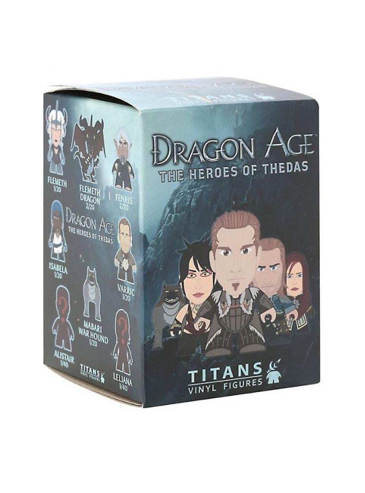Dragon Age Titans Heroes Of Thedas Blind Box Vinyl Figure Titans Merchandise