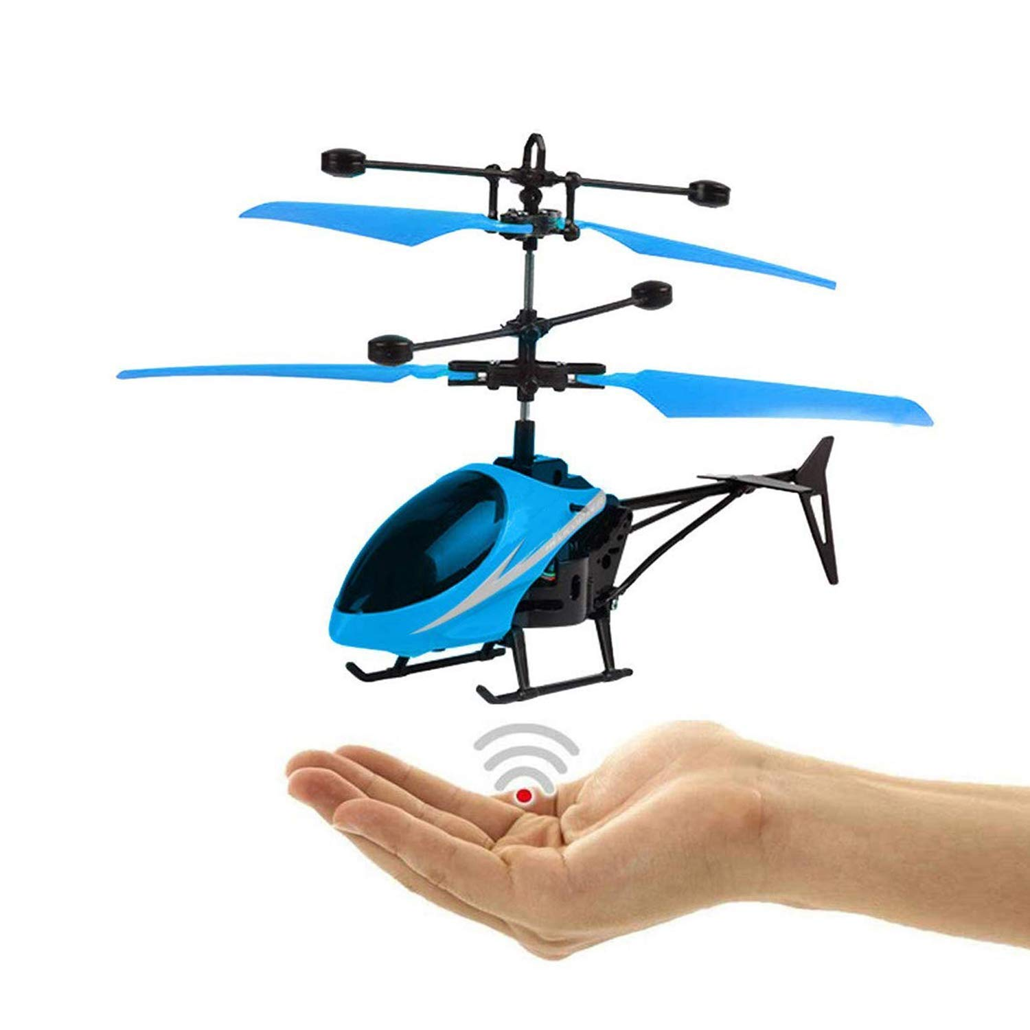CATQUEENInfraredInductionChargeableElectronicHelicopterSensorAircraftUSBCharger2in1FlyingHelicopter