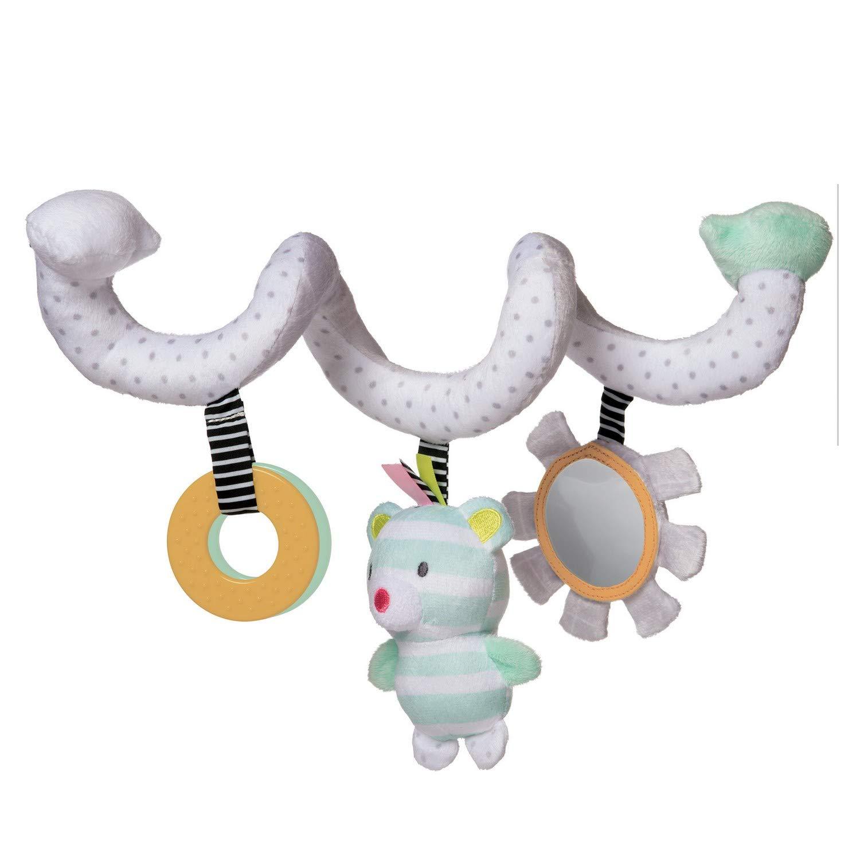 Manhattan Toy Playtime Plush Soft Activity Spiral Bear by Manhattan Toy