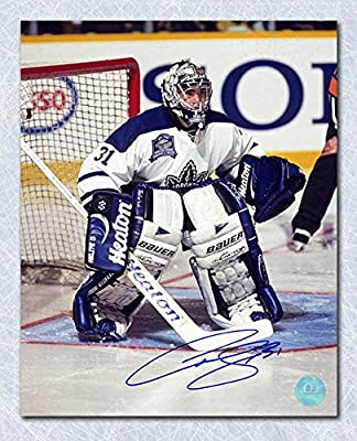 CURTIS JOSEPH Toronto MLG SIGNED 16x20 Last Game Photo - Autographed NHL Photos