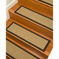 NaturalAreaRugs Tara Sisal Carpet Stair Treads 9 x 29 Set of 13
