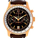 Breitling Navitimer Montbrillant 18K Rose Gold Watch H48330 Limited