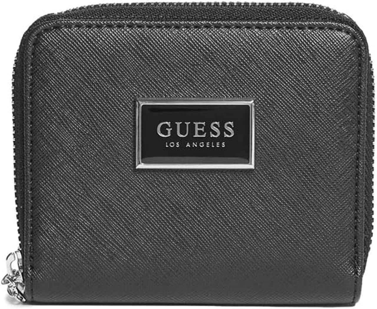 GUESS Factory Abree Saffiano Zip-Around Wallet