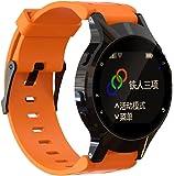 Pour Garmin Forerunner 225 GPS Watch ,Clode® Bracelet de poignet de remplacement de silicone mou + housse de caisse Pour Garmin Forerunner 225 GPS Watch