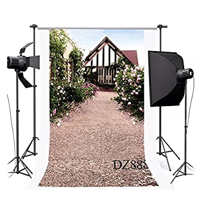 NYMB 3x5ft Poly indoor photography Background seamless customized backdrop various scenes Flowers in the house walls by NYMB