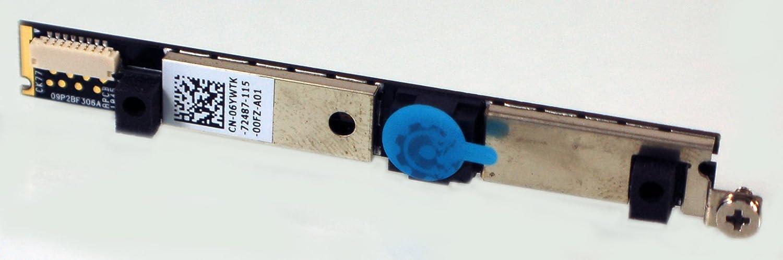 Dell 6YWTK New OEM Latitude E6410 E6510 ATG Precision M4500 Webcam Cam Camera Module Board Assembly