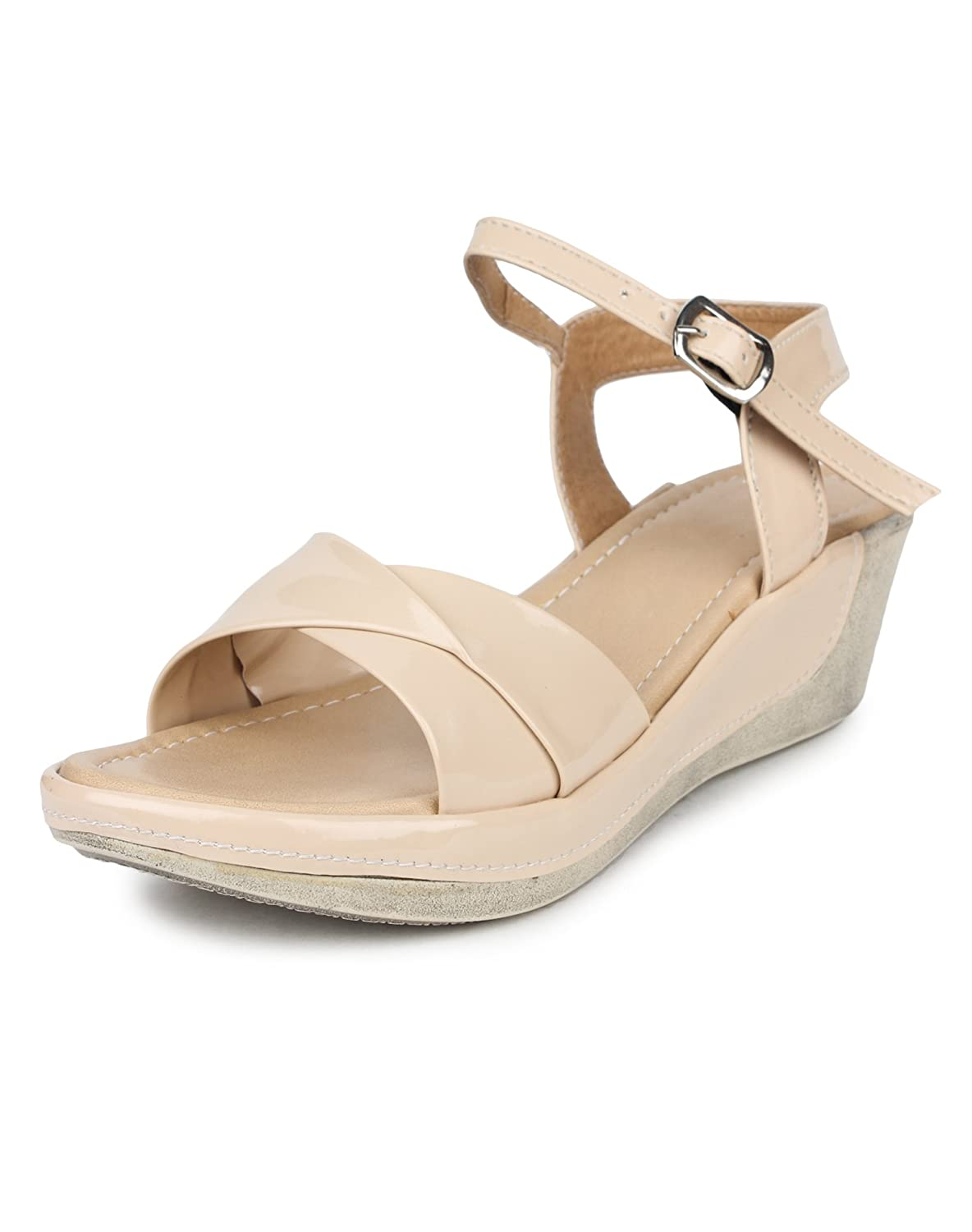Do Bhai Women's Synthetic Wedges