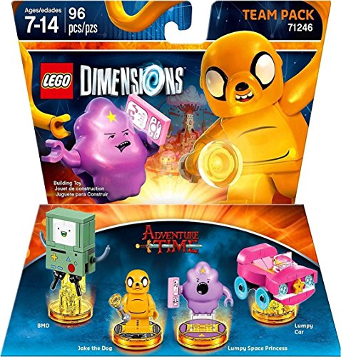 Lego Dimensions Starter Pack + Adventure Time Finn The Human Level Pack + Jake The Dog Team Pack + Marceline The Vampire Queen Fun Pack for Xbox One or Xbox One S Console by WB Lego (Image #7)