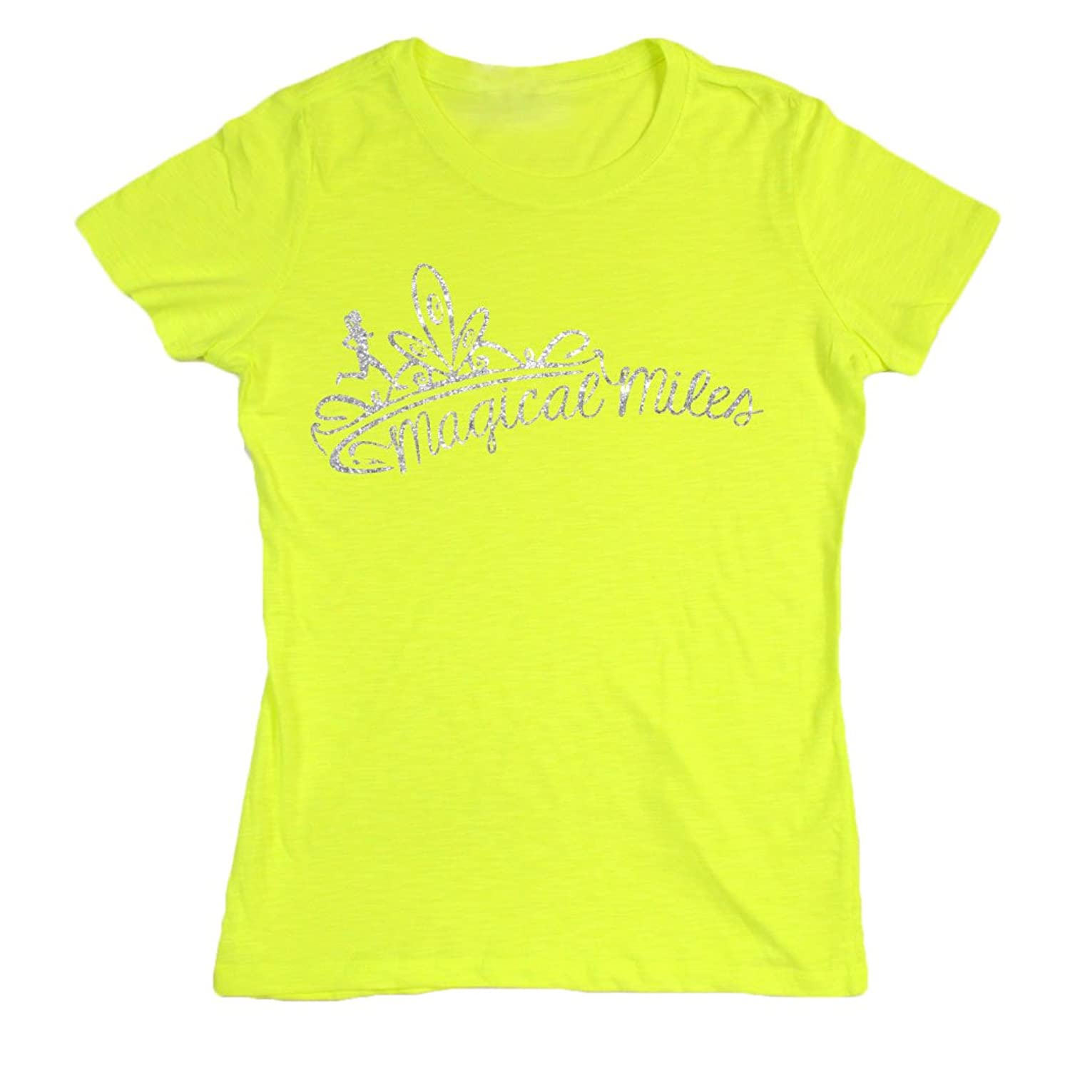 Women's Neon Series Tee Magical Miles Glitter