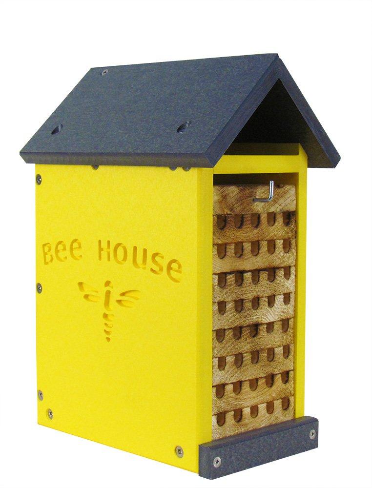 JCs Wildlife Small Poly Lumber Bee House by JCs Wildlife