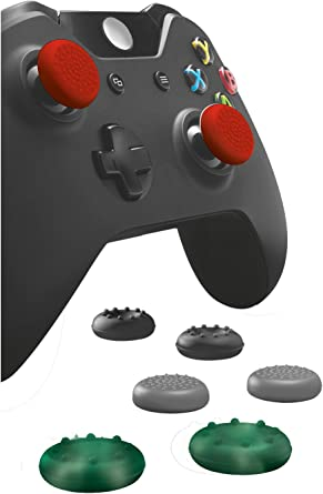 Trust Pack de 8 Thumb Grips para gamepad Xbox One: Amazon.es ...