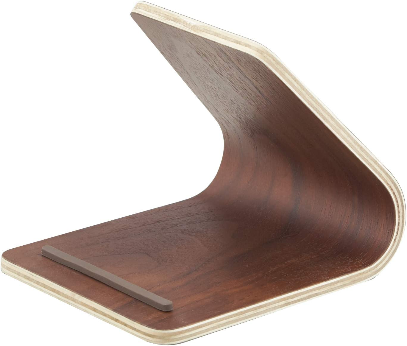 Yamazaki Home 7326 Rin Plywood Tablet Stand Brown