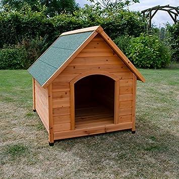 Pisces 5060176691438 Oxford Deluxe - Caseta de madera para perro (tamaño XL, 115 x