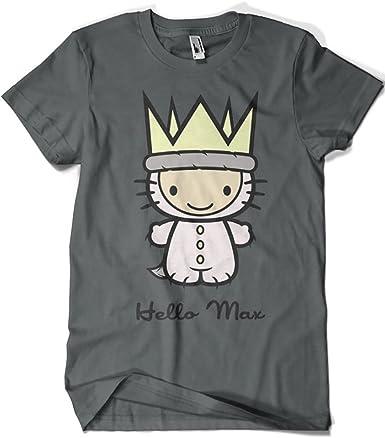 904-Camiseta Hello MAX (Arinesart): Amazon.es: Ropa y accesorios