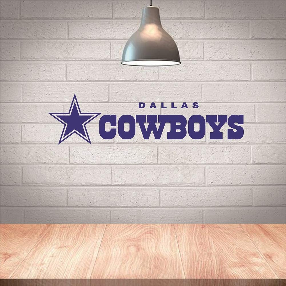 Cool StarCowboysWall Sticker,Decal for Home Decoration, Wall Art, Vinyl Decor