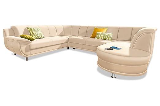 Sofa Couch Trendmanufaktur Wohnlandschaft Rondo Mit Schlaffunktion