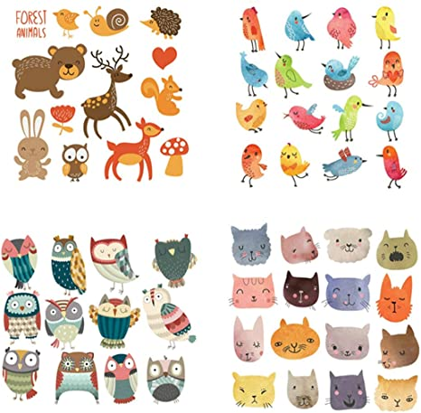 Cute Patches Transfer Iron On Parches DIY Washable Clothes Stickers YL