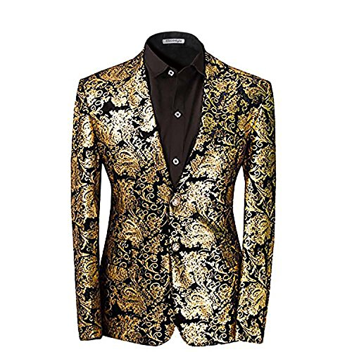 Men's luxury Casual Dress Suit Slim Fit Stylish - Jackets Luxury Mens