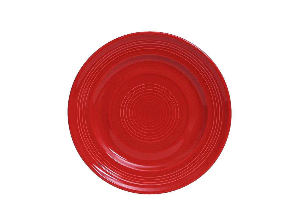 White Set of 4 Tuxton Home Concentrix Salad Plate 7 1//2