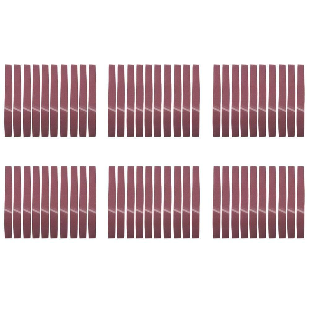 80# 10 PCS Lijado Abrasivo Cintur/ón de Molienda Circular Grits Lijadora Lijadora Abrasiva Cintur/ón de /Óxido de Aluminio Carpinter/ía Pulido de Metales 1220x50 mm /Óxido de aluminio GXK51-B