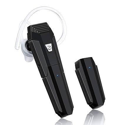 ELEGIANT Auriculares Inalámbricos con Micrófono, Auriculares Bluetooth Manos Libres en la Oreja para automóviles y