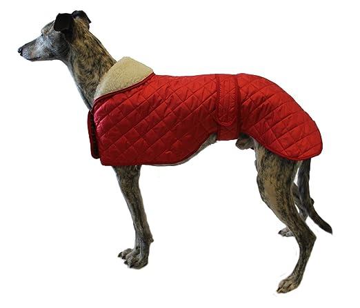 Cosipet Greyhound Anorak Nylon Coat, 51 cm, Red: Amazon.es ...