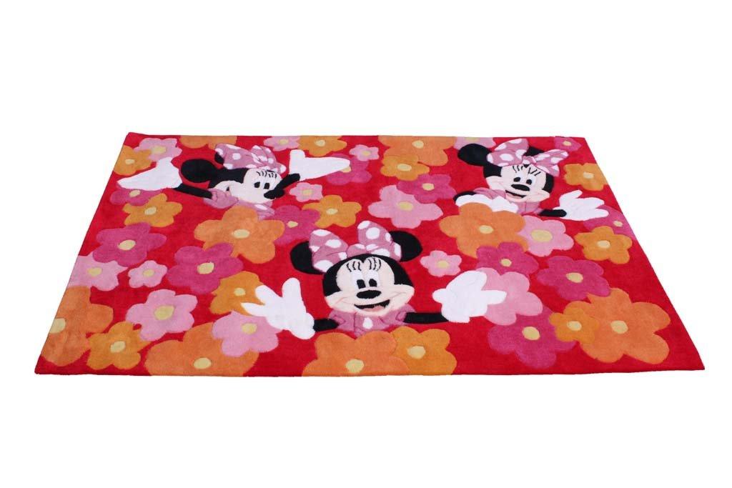 Kinderteppich Minnie 168 x 115 cm
