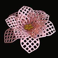 H : Exquisite Pattern New Flower Heart Metal Cutting Dies Embossing Stencils For DIY Album Scrapbooking Paper Card Decor Art Craft (H)
