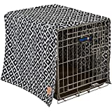 Precision Pet SnooZZy IKAT Crate Cover Navy