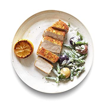 Amazon Meal Kits, Parmesan Pork Loin with Tangy Green Beans & Rainbow  Potatoes, Serves 2