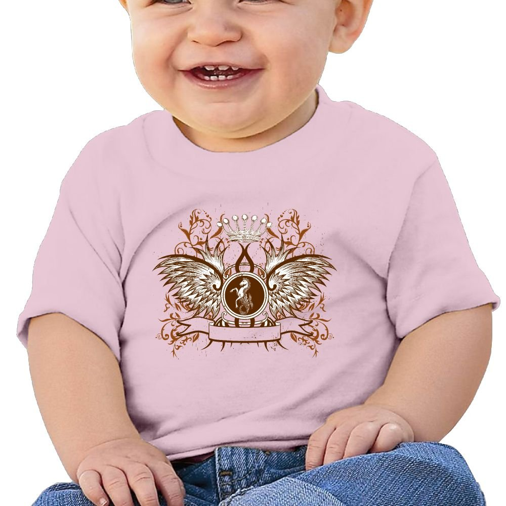 BABBY Loyal Symbol Tee Baby Clothes Short Sleeve Graphic T Shirt Boys Girls 6-24 Month