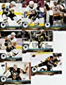 2017-18 Upper Deck Hockey Series 1 Pittsburgh Penguins Team Set of 7 Cards: Carl Hagelin(#145), Evgeni Malkin(#146), Ian Cole(#147), Matt Murray(#148), Phil Kessel(#149), Scott Wilson(#150), Jake Guentzel(#151)