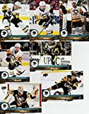 2017-18 Upper Deck Complete Pittsburgh Penguins Team Set of 13 Cards in a 4-Pocket Notebook: Carl Hagelin(#145), Evgeni Malkin(#146), Ian Cole(#147), Matt Murray(#148), Phil Kessel(#149), Scott Wilson(#150), Jake Guentzel(#151), Sidney Crosby(#391), Matt Hunwick(#392), Kris Letang(#393), Chad Ruhwedel(#394), Bryan Rust(#395), Justin Schultz(#396)