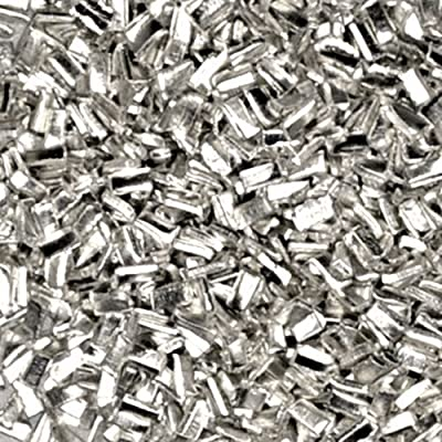 Silver Solder Ultra Tiny Precut Pieces 0.5mm X 1mm X .25mm Medium Density Chip (Qty=1500) by uGems by uGems