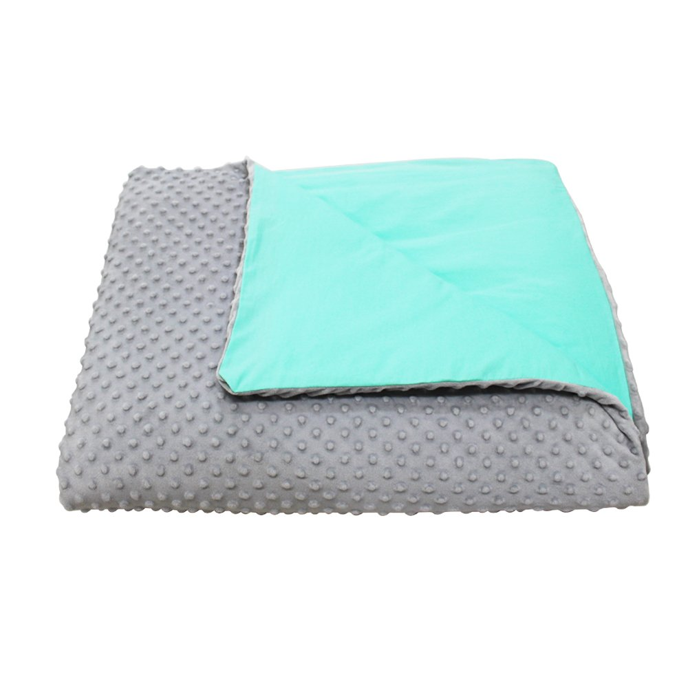 CMFRT Premium - The COZIEST Weighted Blanket for Children , Get Quality Rest and Sleep Better - Relieves Anxiety, Stress, Agitation, Insomnia- (41'' x 56'' - 7.5 lb) (Perfect for 60 lb children), 22304