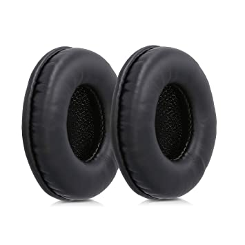 93c207a421f kwmobile 2x Earpads for Sony MDR-V150 / V250 / V300 - PU Leather Replacement