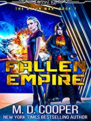 Fallen Empire - A Military Hard Science Fiction Epic (Aeon 14: The Orion War Book 7)