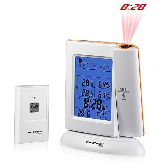 Estación meteorológica con proyector sm762: Amazon.es: Electrónica