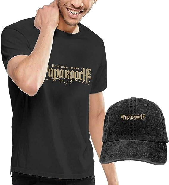 SOTTK Camisetas y Tops Hombre Polos y Camisas, Papa Roach Rock ...