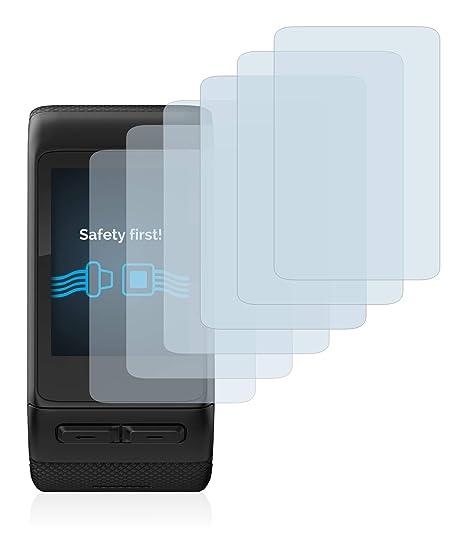 Savvies Protector de Pantalla para Garmin Vivoactive HR [6 Unidades] - Transparente