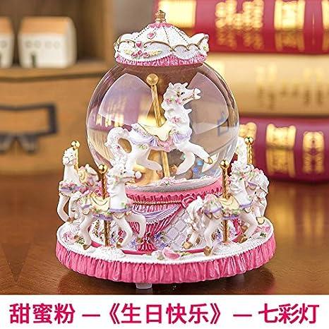 Il Giorno Di San Valentino Dono Regali Di Natale Sfera Di Cristallo