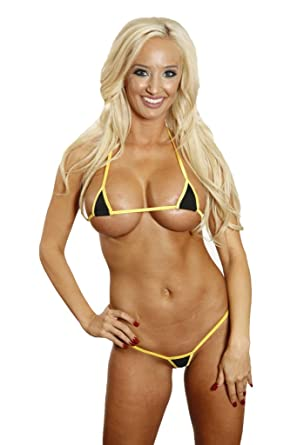 Models bikini hot string