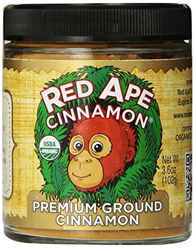 Red Ape Cinnamon Premium Ground Cinnamon, 3.6 Ounce by Red Ape Cinnamon®