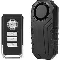 Vbestlife Alarma de Control Remoto Inalámbrico Candado de Bicicleta Alarma Cerradura de Seguridad Vehículo de Moto…
