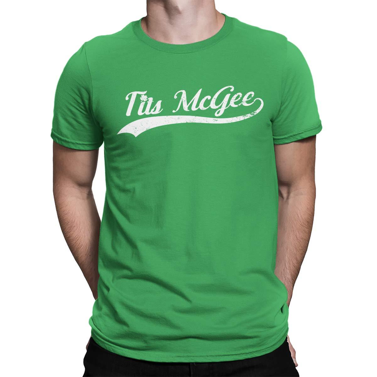 c99afc5d5 SpiritForged Apparel Tits McGee Men's T-Shirt, Kelly XL