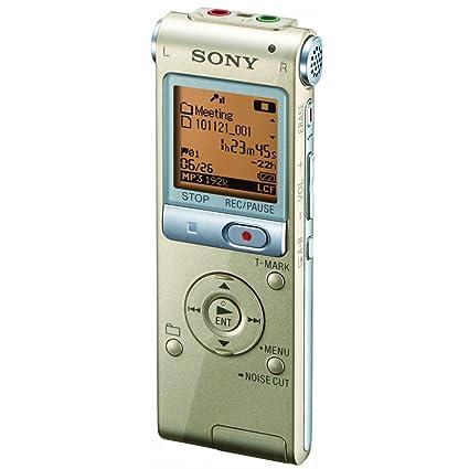 Sony ICDUX512N - Dictáfono (PCM, USB, LCD, Tarjeta Flash ...