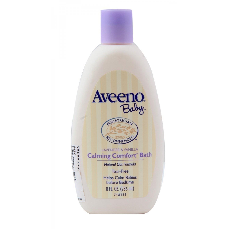 Aveeno Baby Calming Comfort Bath, Lavender & Vanilla, 8 oz. J&J685420