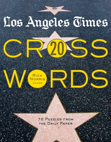 Los Angeles Times Crosswords 20: 72 Puzzles from the Daily Paper pdf epub