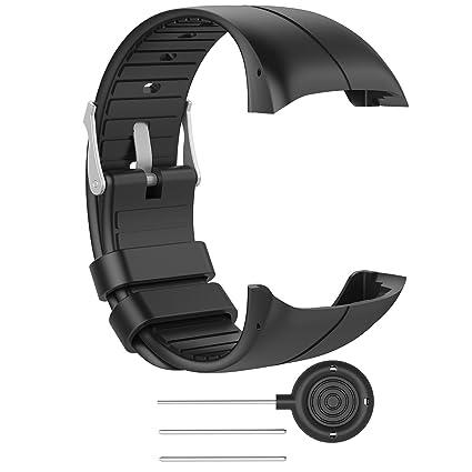Amazon.com: ruentech Bandas para Polar M400/M430 Reloj ...