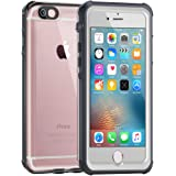 Waterproof Case for iphone 6/6s [4.7-Inch Version]-ALOFOX Clear Retail Packaging White